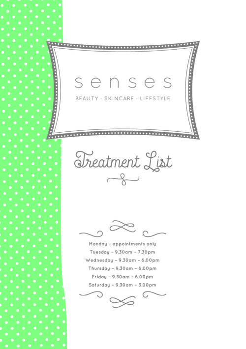 Senses Treatment List - Derbyshire