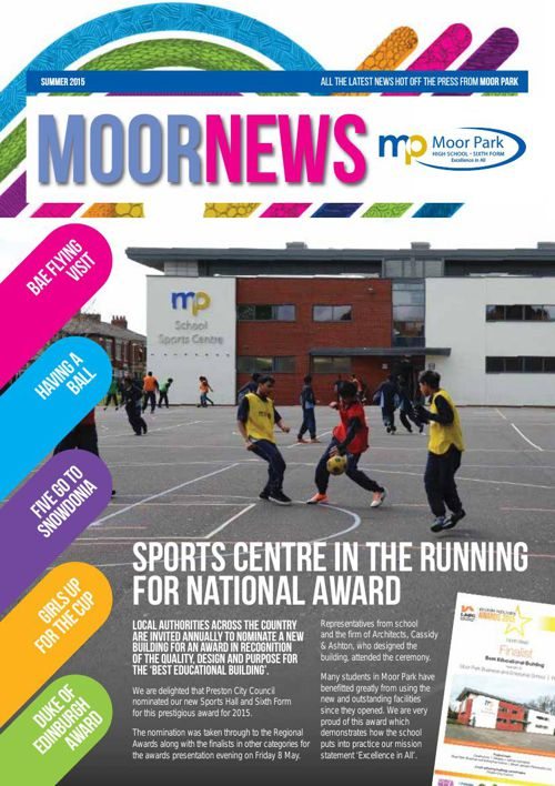 Moor Park Summer 2015 Newsletter