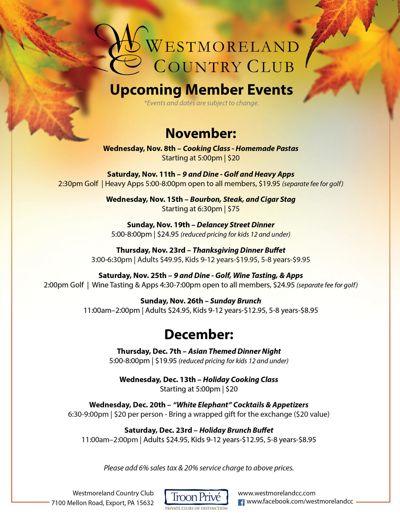 WCC Member Newsletter   Nov-Dec 2017