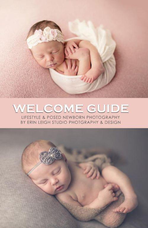 Erin Leigh Studio Overview Newborn Preparation Guide
