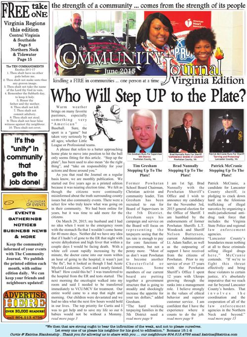 The Community Journal . June 2015