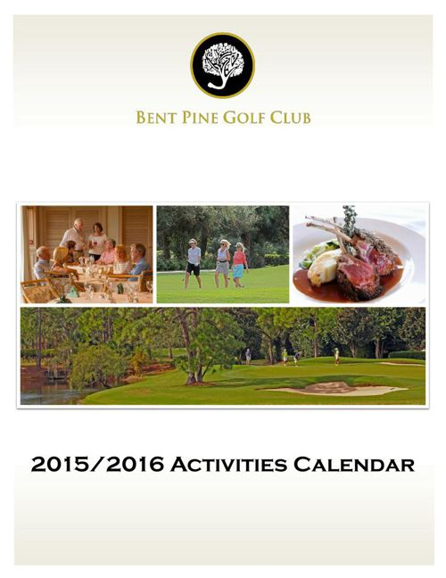 2015-2016 Activities Calendar