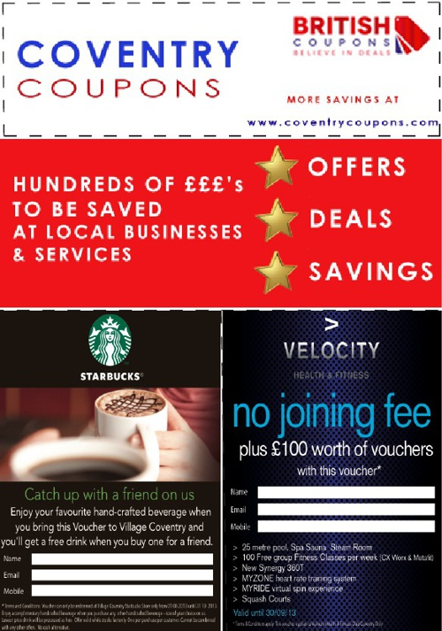 Coventry Coupons | October Issue