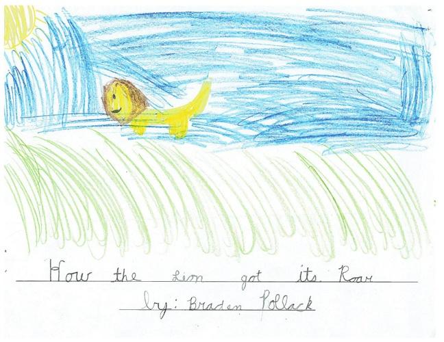 Braden's Legend: How the Lion Got its Roar