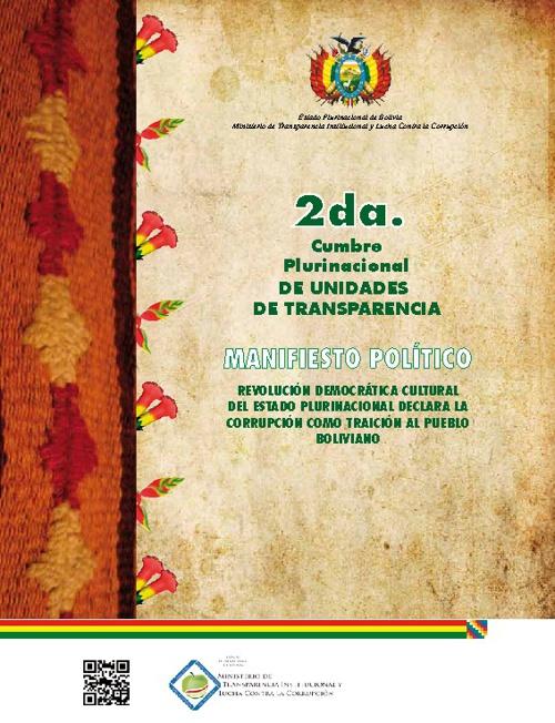 Manifiesto Politico 2da cUMBRE