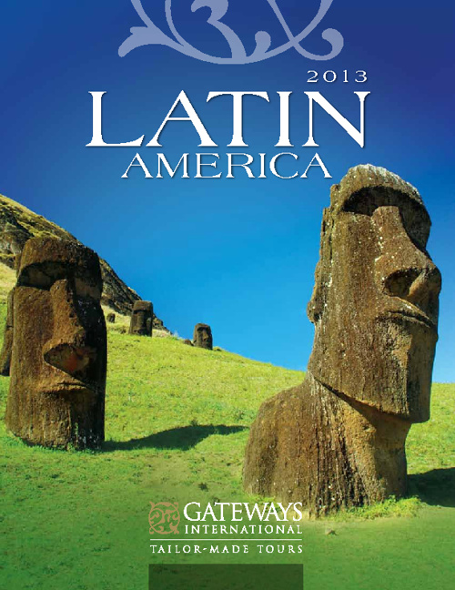 2013 Gateways International Latin America Brochure