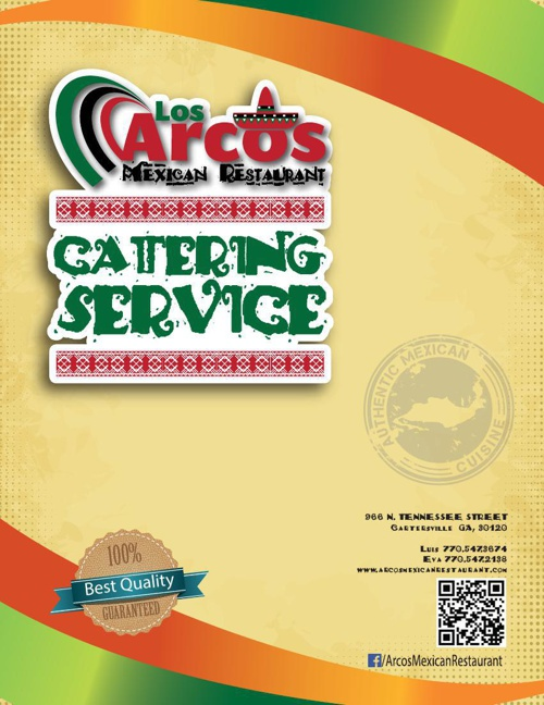 Catering Services - Los Arcos Mexican Restaurant