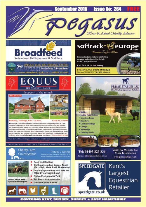 Pegasus Magazine September issue
