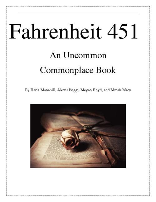 Fahrenheit 451 Flip Book