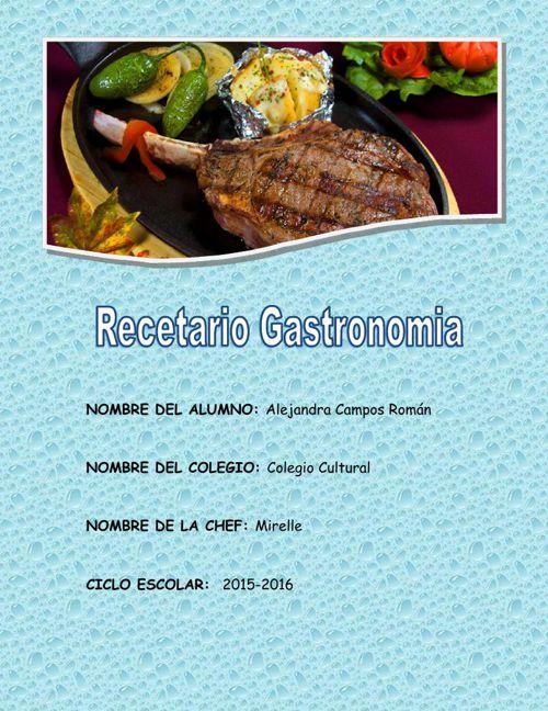recetario gastronomia 4