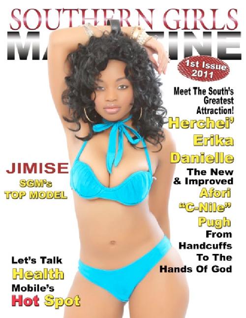 Southern Girls Magazine Vol 1. Issue 1