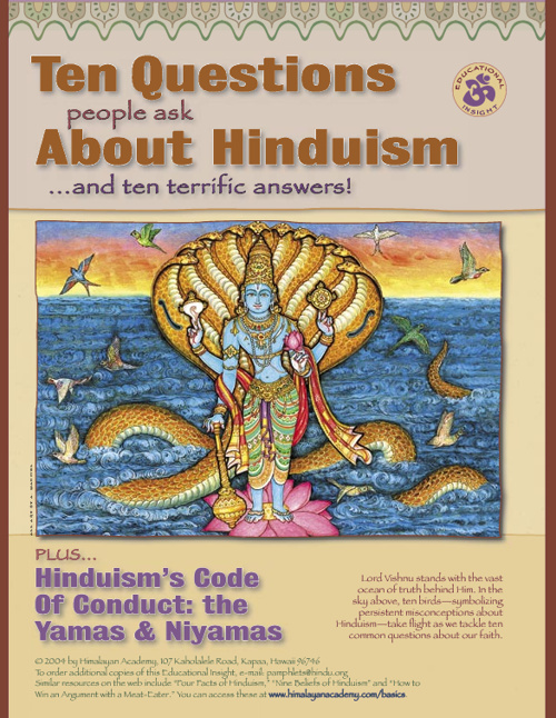 Ten Question About Hinduisum