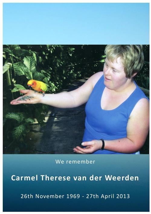 Carmel Van Der Weerden
