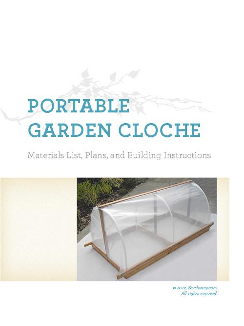 Garden Cloche Plans Test