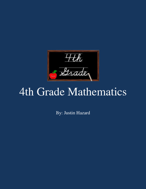 4th Grade Mathematics