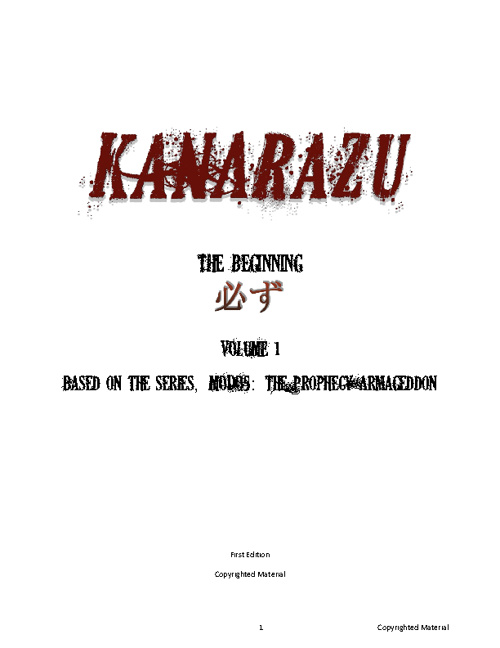Copy of KANARAZU Comic/ Graphic Novel