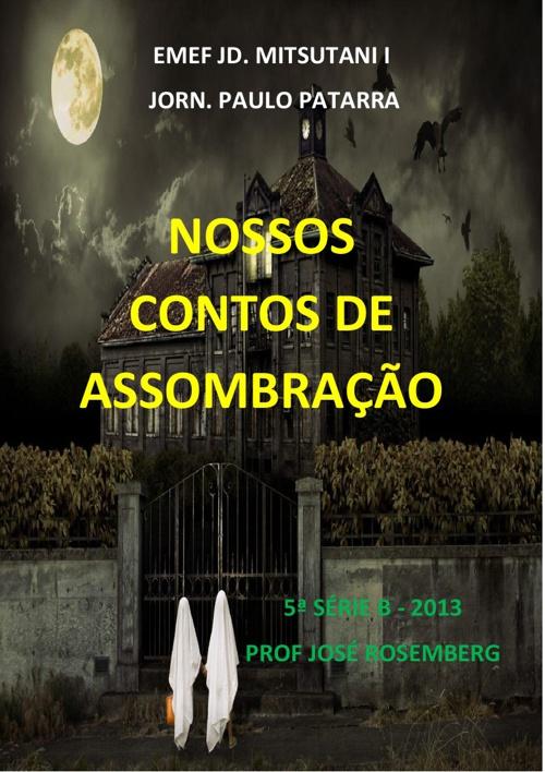 CONTOS DE ASSOMBRAÇÃO - 5ªB