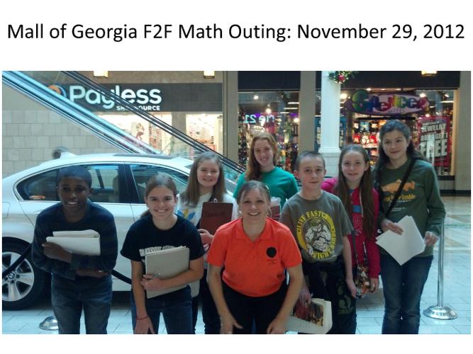 Mall of Georgia Math F2F Outing