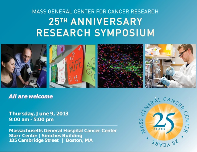 Center for Cancer Research 25th Anniversary Research Symposium