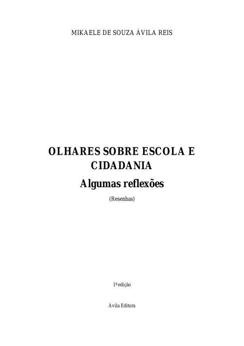 Resenhas-MIKAELE