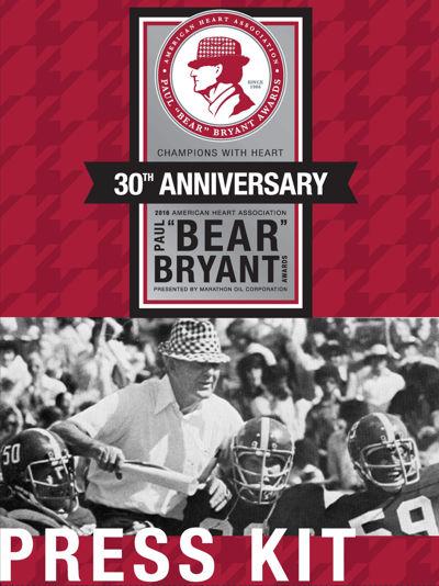 2016 Bear Bryant - Press Kit