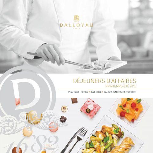 Carte Déjeuners d'Affaires PE15