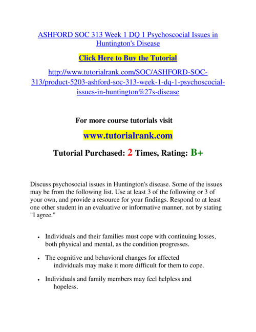 SOC 313 Slingshot Academy / Tutorialrank.Com
