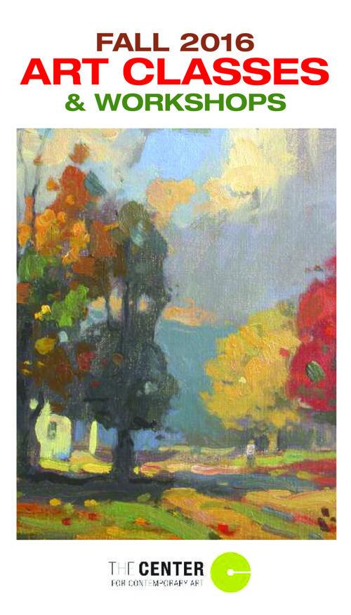 Fall 2016 Art Classes and Workshops