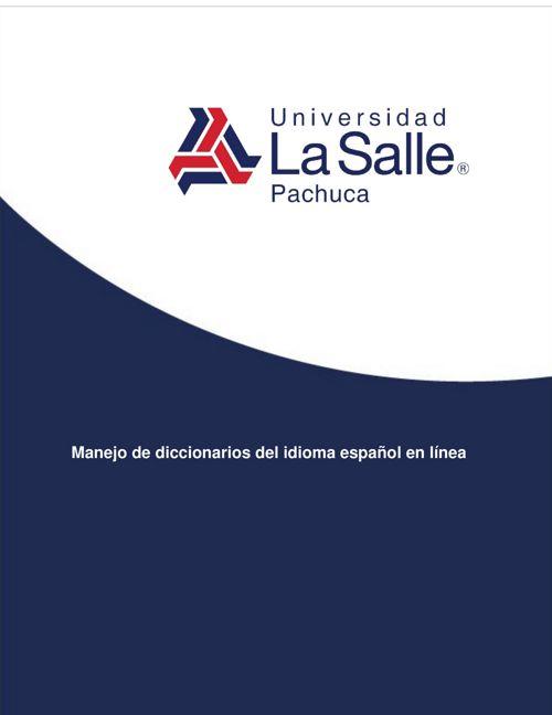 Manejo de diccionarios de español en línea