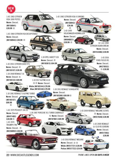 Diecast Legends November 2017