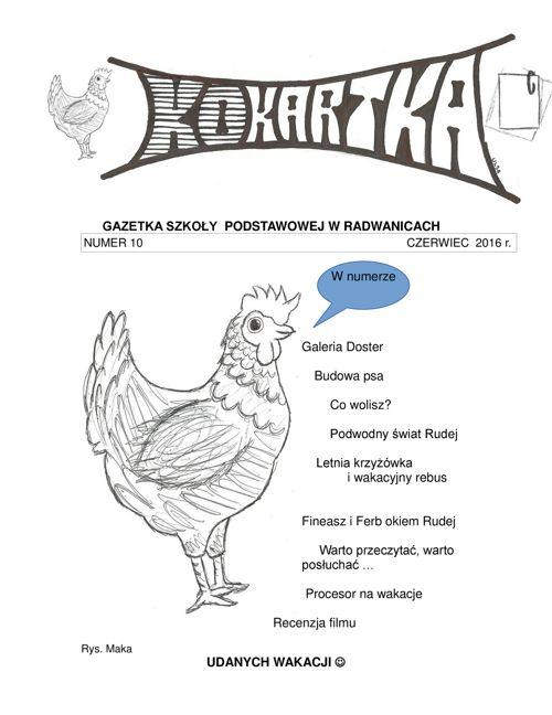 Gazetka - Czerwiec 2016