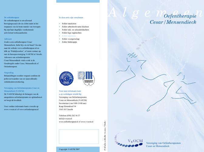 Oefentherapie.eu - Folders
