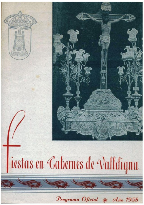 Libro fiestas 1958