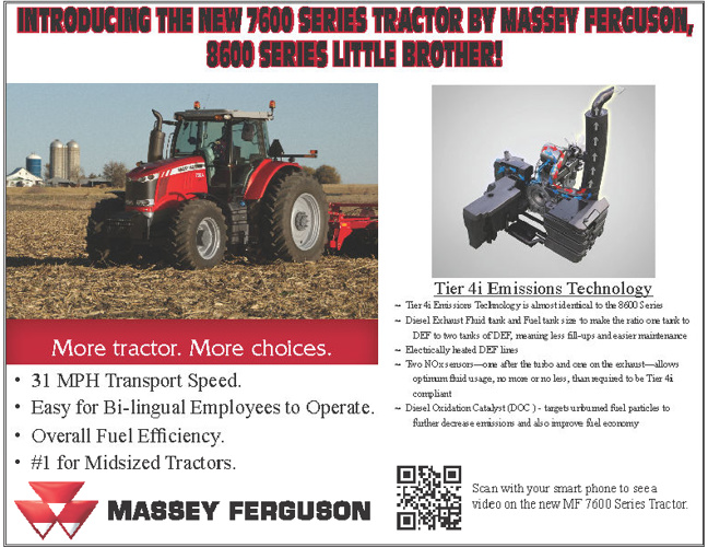Agri-Service Fall 2012 Flyer