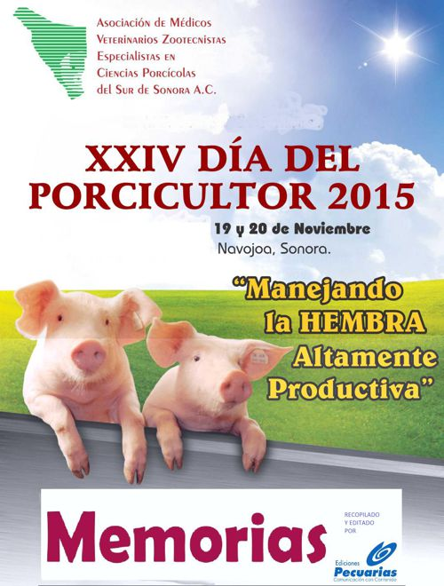 MEMORIAS XXIV DIA DEL PORCICULTOR 2015