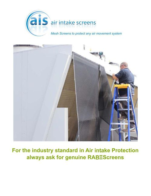 A buyers guide to air intake filter screens by RAB