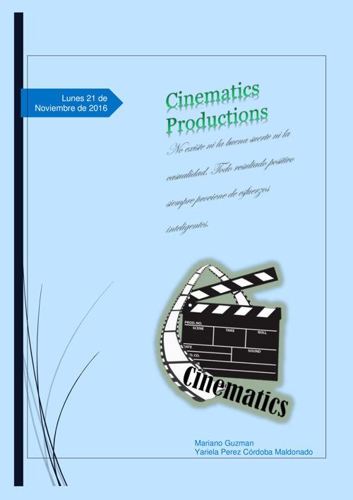 Cinematics Production