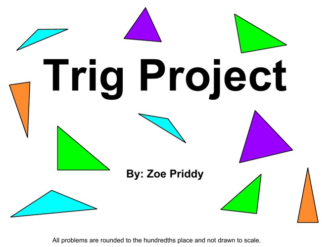 trigonometry projects Projects available: polynoimials and trigonometry tex version or postscript version project contributed by neal brand this project uses trigonometric identities to derive polynomials to approximate the sine and cosine functions.
