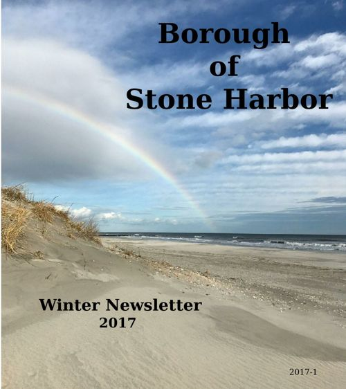 Borough of Stone Harbor Winter 2017 Newsletter