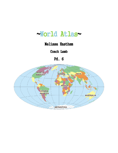 MelissaEastham World Atlas