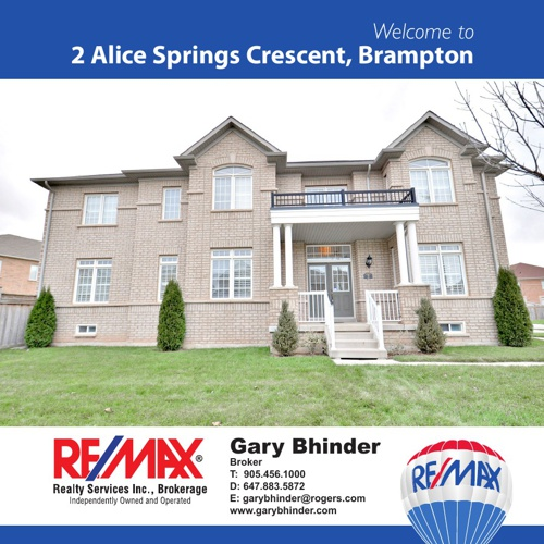 2 Alice Springs Crescent Brampton