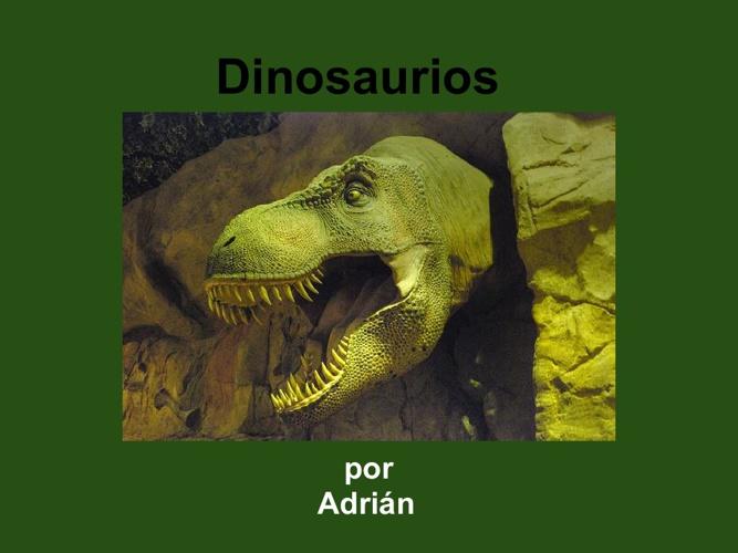 Adrián Dinosaurios