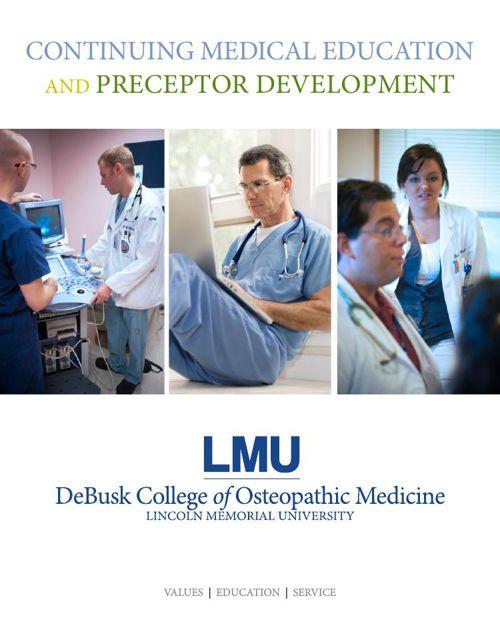 LMU-DCOM Continuing Medical Education and Preceptor Development