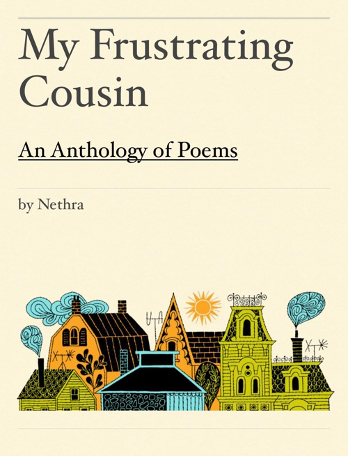 Nethra's Poem anthology