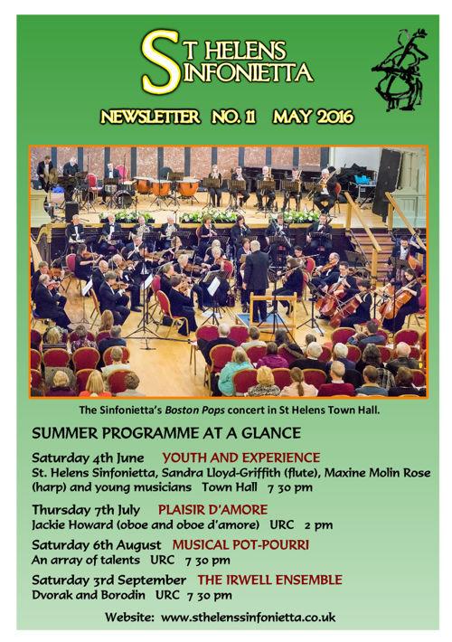Sinfonietta Newsletter 11