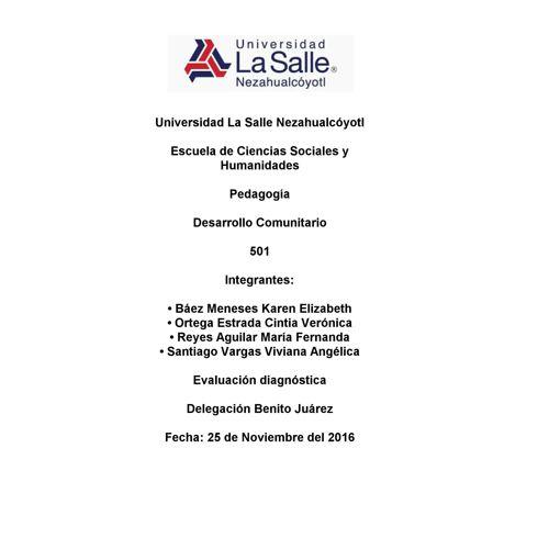 Copy of Evaluación Diagnóstica