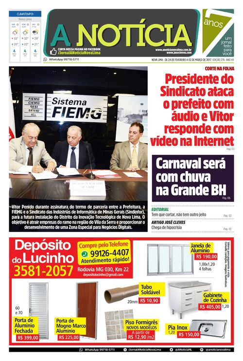 Jornal A Notícia - Edição 276