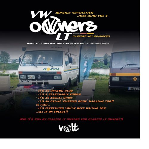 VOLT June Magazine - the VW LT Owners Club