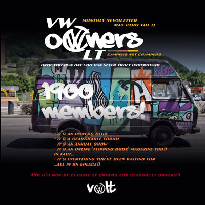VOLT May Magazine - the VW LT Owners Club