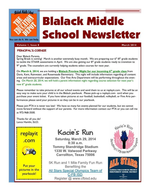 March News 2014